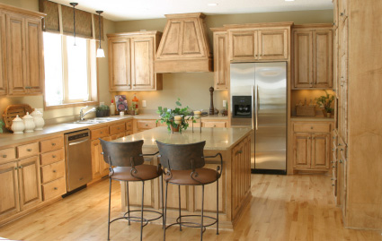 New Custom Kitchen in Remodeled Home