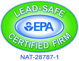 EPA lead safe certification NAT-28787-1